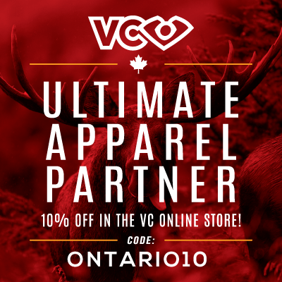 2016 VC Ultimate Apparal Sponsorship. 10% off for all Ontario Ultimate members